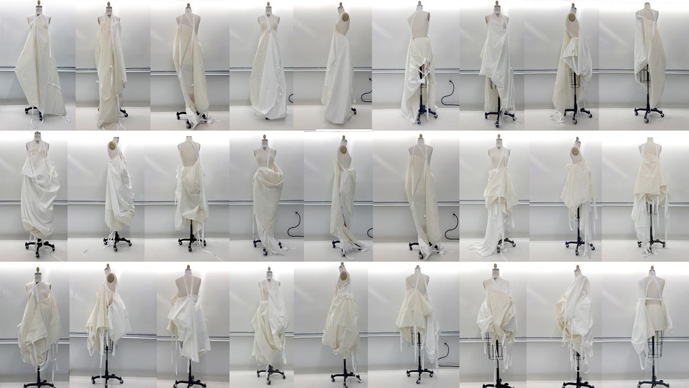 RUDIMENT Objet Trouvé 003 Interactive Garment Draping Process